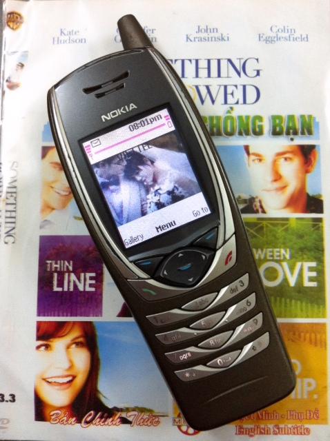 Điện thoại kiểu dáng bộ đàm Nokia 6650